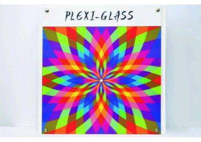 plexi glass με ψηφιακή εκτύπωση